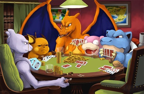 pokemon, poker,