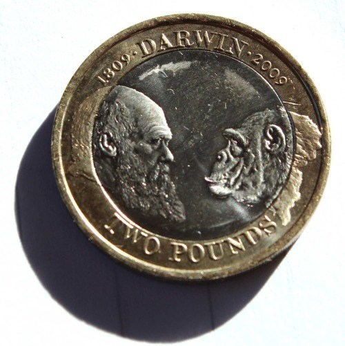 Darwin two pound coin is classy as hell