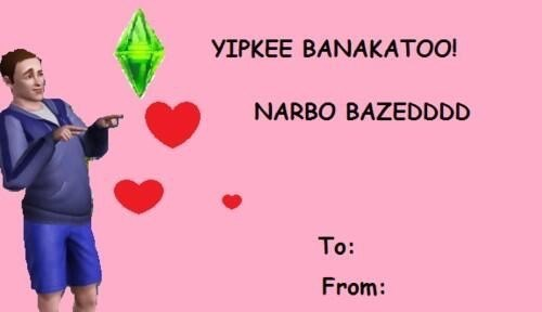 The Sims Valentines day - 8445593088