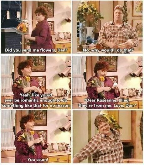 rosanne was a great show.