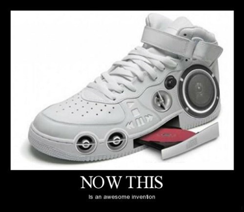 shoes wtf CD player funny - 8445657856