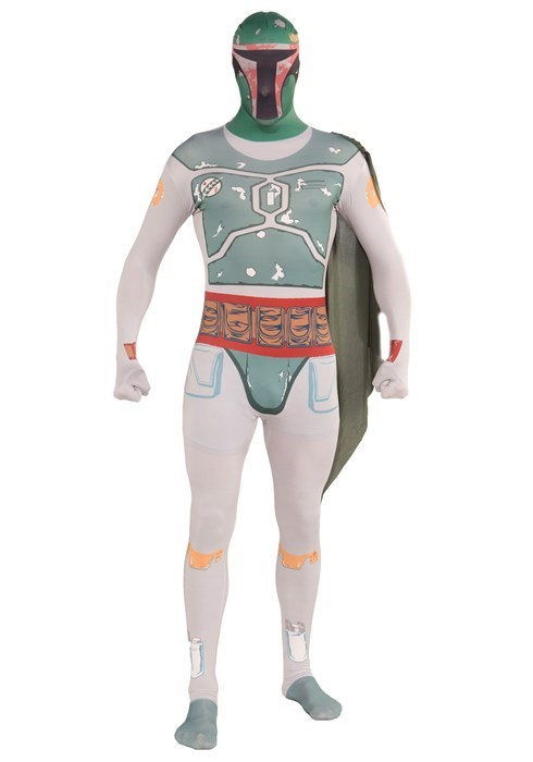 geeky merch boba fett skin suit
