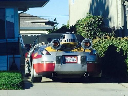 geeky cars star wars r2d2