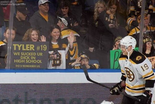 High school hockey players have all the luck