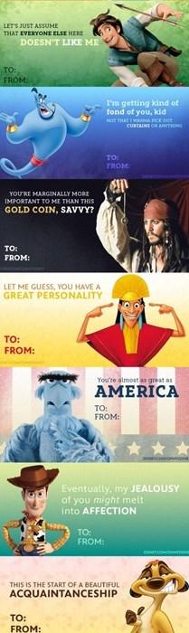 geeky memes disney valentines