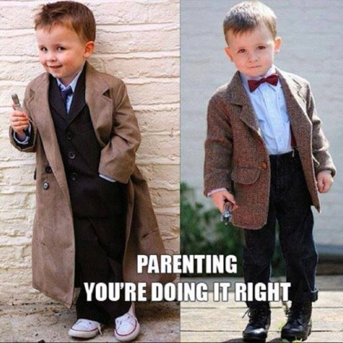 funny-doctor-who-cute-kids-cosplay-10th-11th-doctor