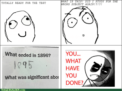 studying school test what have you done - 8445853952
