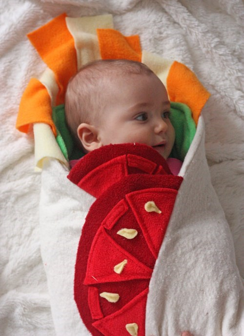 funny-parenting-wrap-your-baby-in-proper-burrito-form