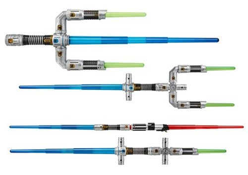 geeky merch build your own light saber