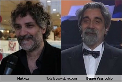 Makkox Totally Looks Like Beppe Vessicchio