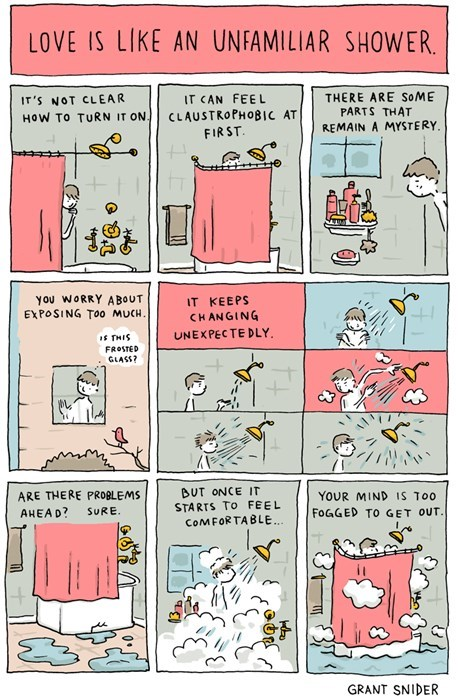 funny-web-comics-love-is-like-an-unfamiliar-shower