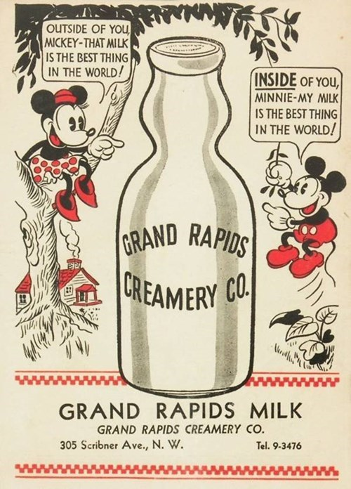 now that's some sexy mickey milk