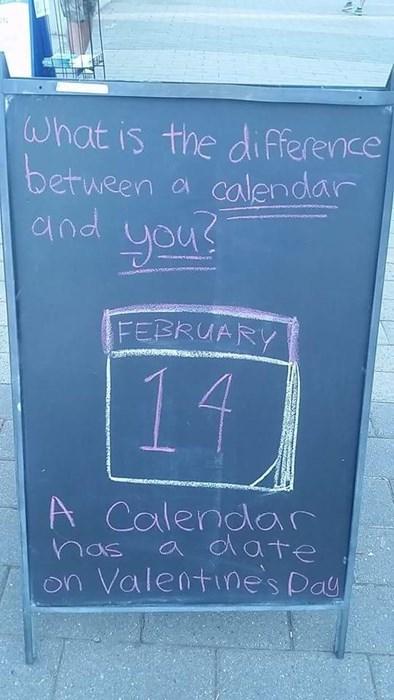the calendar has a date every night