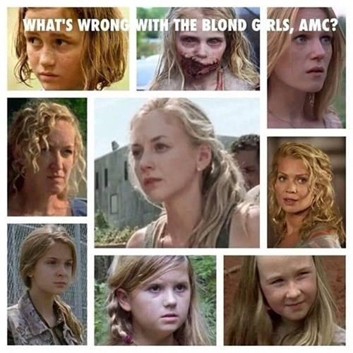 funny-walking-dead-dangerous-to-be-blonde-woman