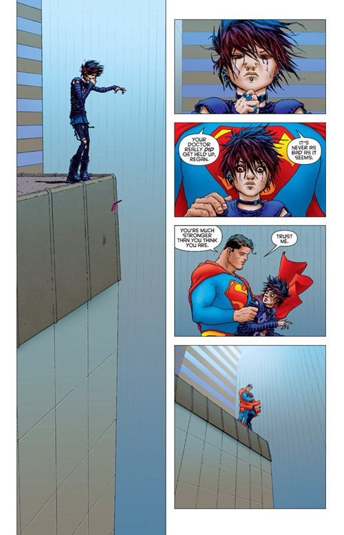 Straight off the Page superman save - 8446486272