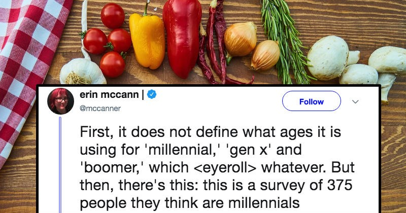 millenials can actually sometimes cook tweets