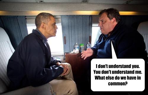 Chris Christie Democrat barack obama republican - 8447005184