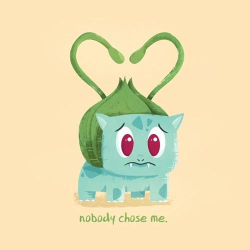 Sad Pokémon bulbasaur Valentines day - 8447118592