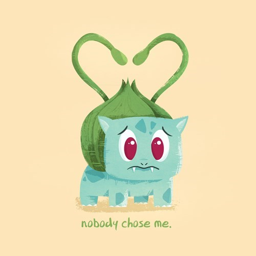 Sad Pokémon bulbasaur Valentines day - 8447118592