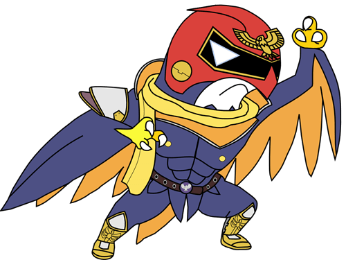 crossover,Pokémon,hawlucha,captain falcon