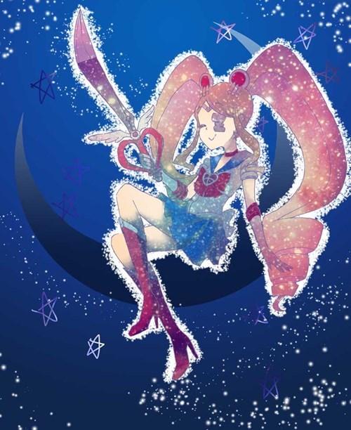 crossover Fan Art sailor moon kill la kill - 8447120384