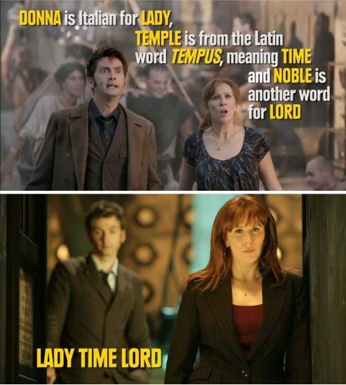 funny-doctor-who-donna-noble-time-lord-foreshadowing