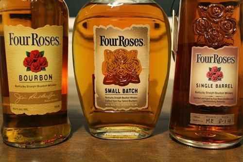 four roses is the whiskey for lovers