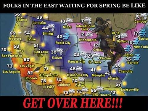 spring Mortal Kombat weather midwest winter - 8447602176