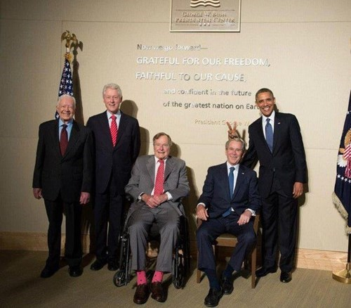 the-last-six-presidents-together-in-one-photo