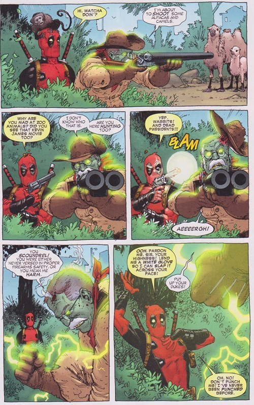 presidents deadpool Straight off the Page - 8447654144
