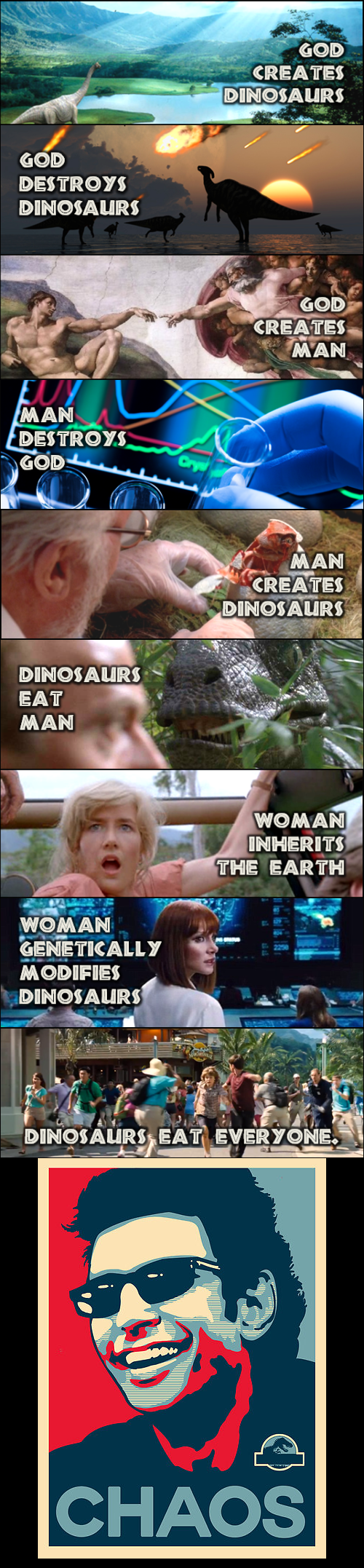 funny-web-comics-the-summation-of-the-jurassic-park-series-in-a-comic