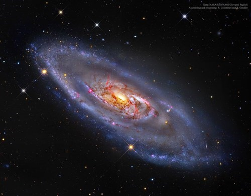 m106 is an amazing and curious galaxy