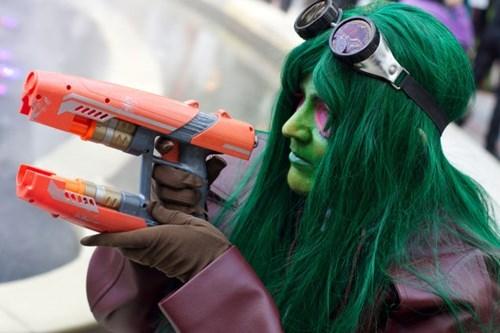 cosplay guardians of the galaxy gamora - 8448113920