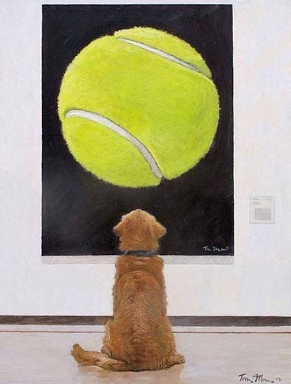 dreams painting tennis ball - 8448181760