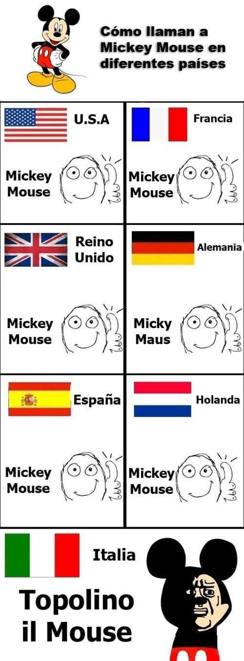 Mickey en italiano