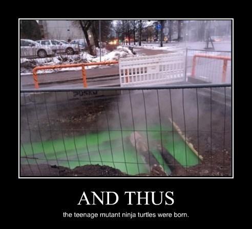 sewer TMNT ooze ninjas funny - 8448324352