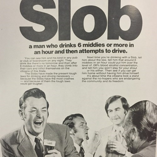 slob is just a drunk driver