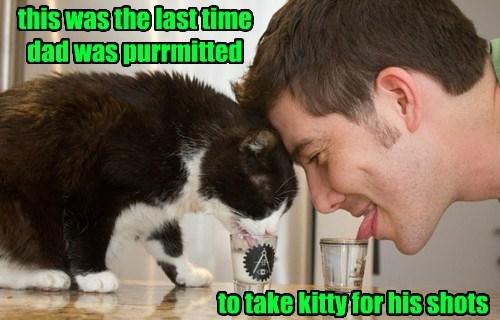 shots cat dad caption - 8448366336