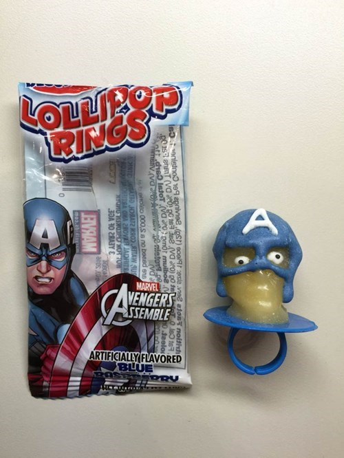 captain america nightmare lollipop - 8448400384
