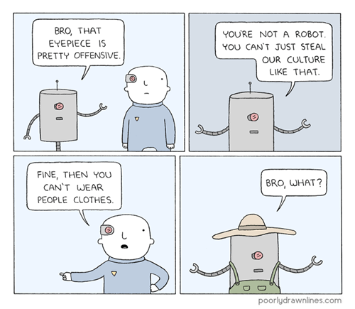 fashion robots culture web comics - 8448533760