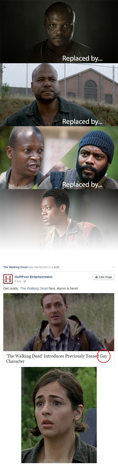 diversity representation gay The Walking Dead - 8448566272