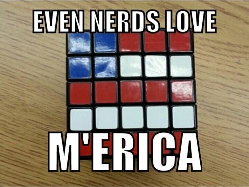 nerdgasm america rubiks cube - 8448592896