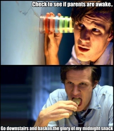 kids 11th Doctor midnight snack - 8448596224