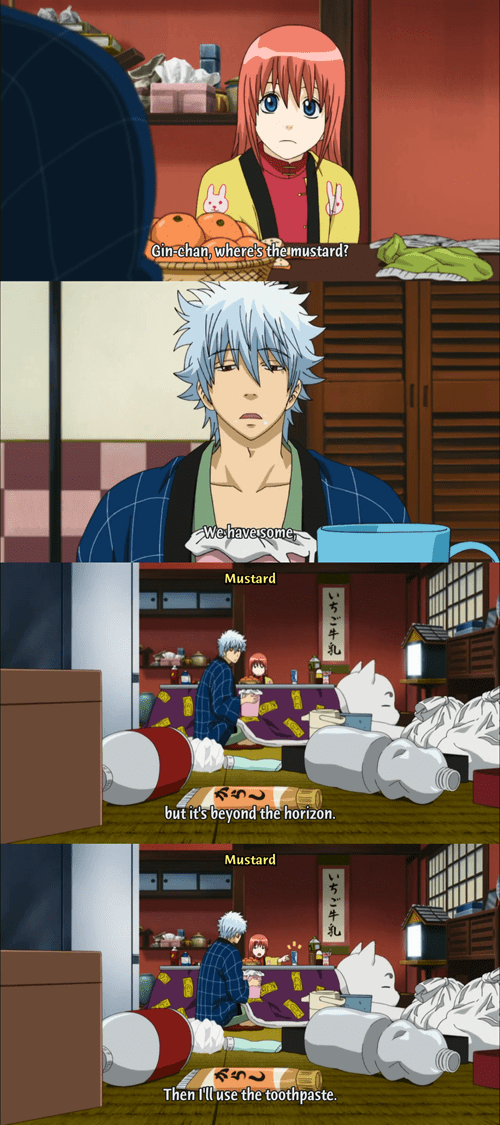mustard anime gintama - 8448637696