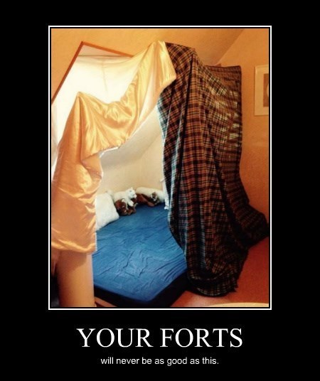 puppies blankets awesome fort - 8448978944
