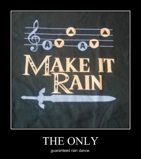 legend of zelda,ocarina of time,dance,rain