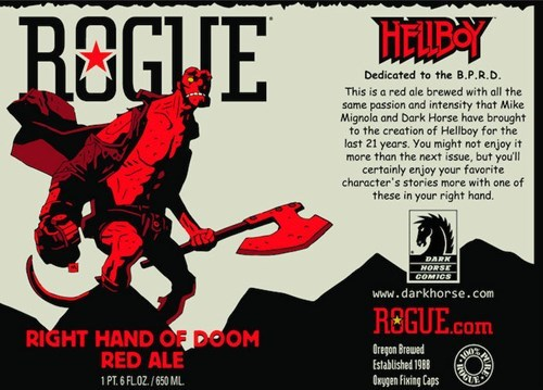 Right hand of doom red ale