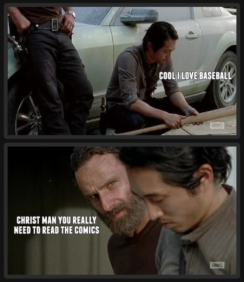 funny-walking-dead-glenn-hasnt-read-the-comics