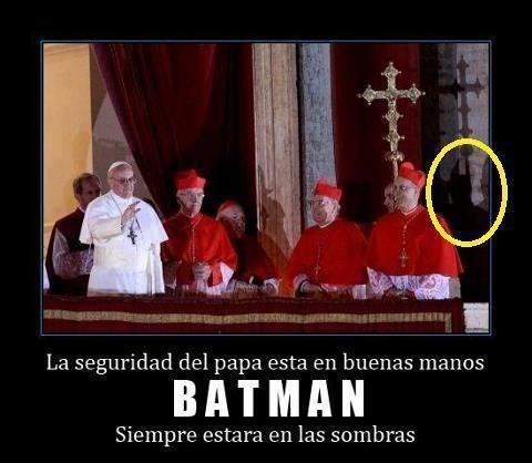 Batman en el vaticano