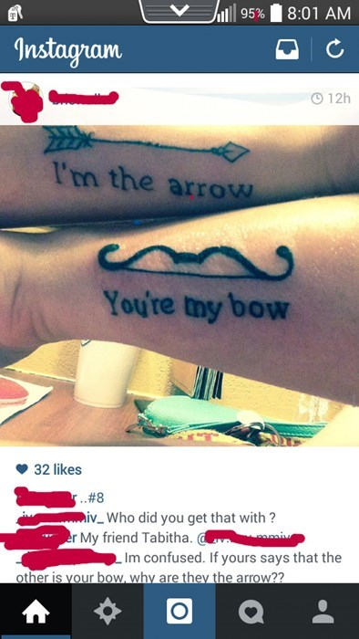 funny-tattoo-fails-pics-bow-arrow-quote